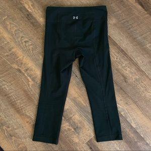 Under Armour black crop athletic pants XS
